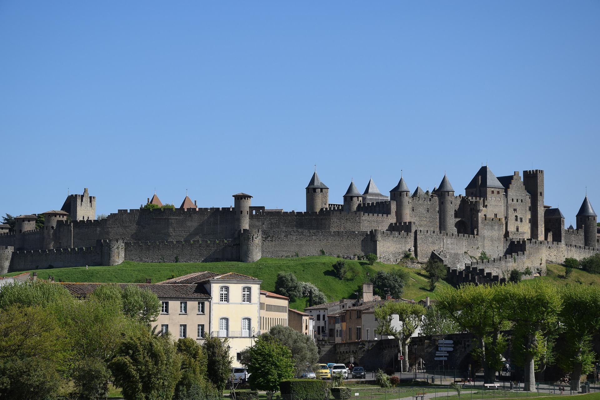 Vue de Carcassonne