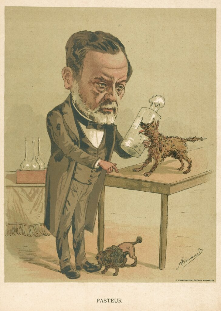 L0042493 Louis Pasteur. Colour lithograph by Amand Credit: Wellcome Library, London.