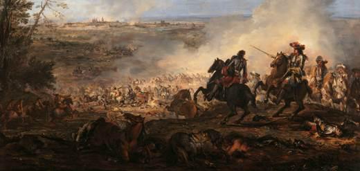 Bataille de Maestricht à laquelle participa d'Artagnan