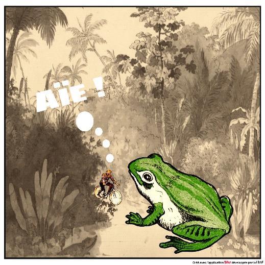 Créez vos mèmes et bandes dessinées avec l'application BDnF © BNF / Laure Armand d'Hérouville