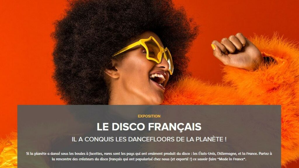 """Exposition en ligne """"Le Disco français"""", Musée numérique de la SACEM"""