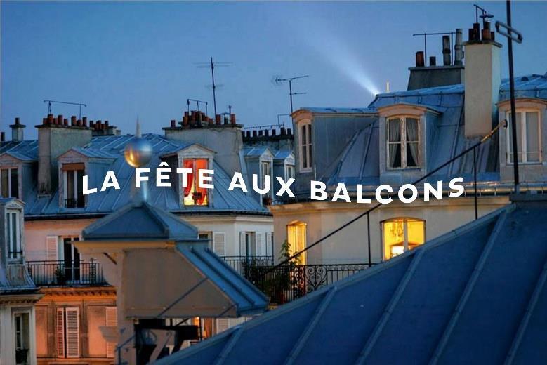 La Fête aux balcons © Dure Vie