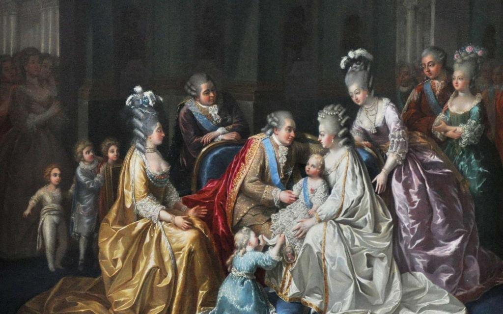 Marie-Antoinette, Louis XVI et la famille royale