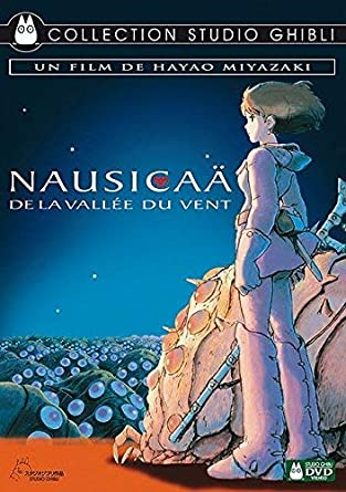 Pochette du film : Nausicaä de la vallée du vent (Miyazaki)
