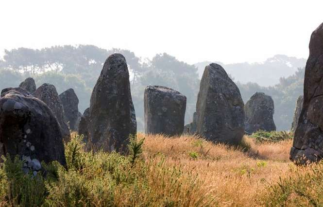 Balade entre les mégalithes à Carnac
