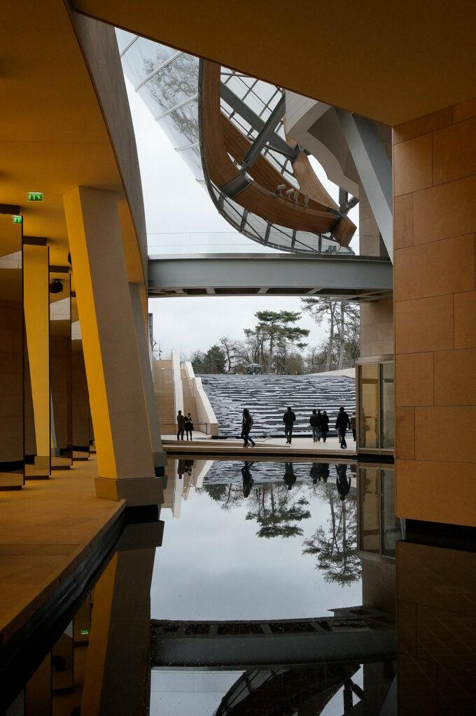 Le Bassin de la Fondation Louis Vuitton