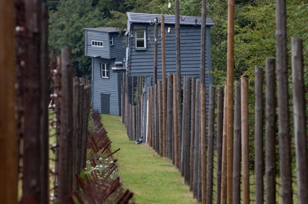 Enceinte du camp de concentration : le Struthof