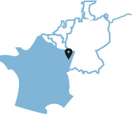 Localisation du camp de concentration KL-Natzweiler