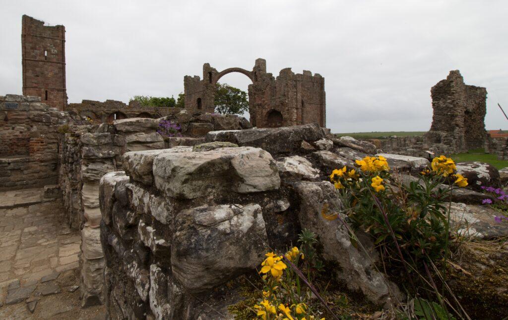 Ruines de l'abbaye de Lindisfarne