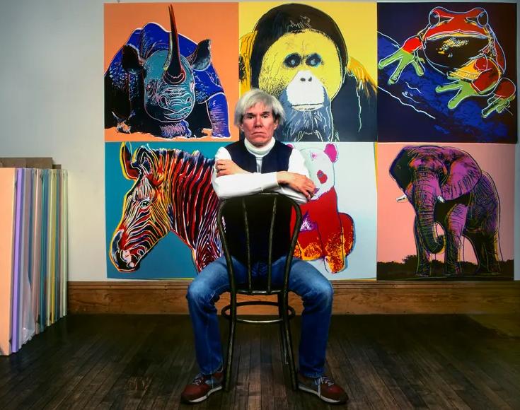 Andy Warhol et sa Factory, star système de la contre-culture