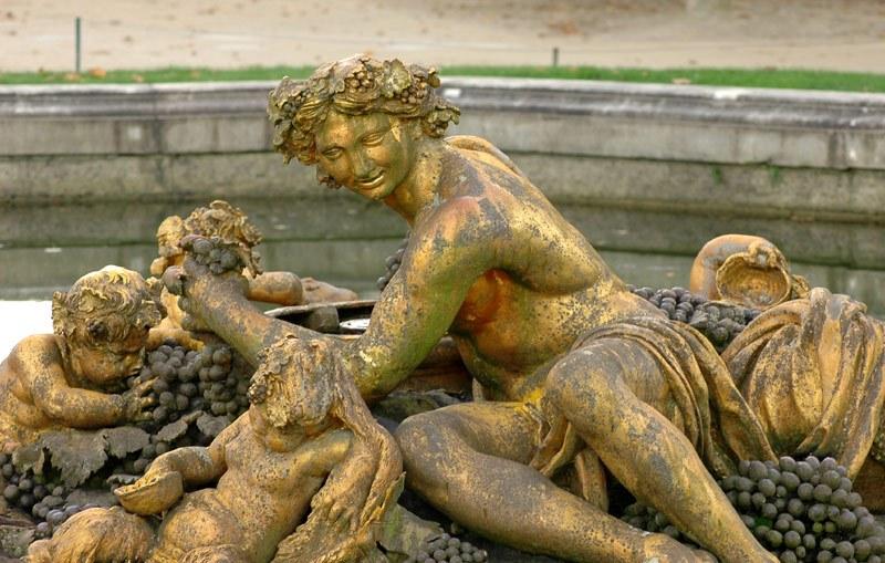 Bassin de Bacchus - Petit parc de Versailles