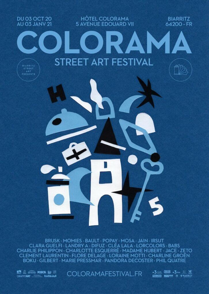 Affiche du Colorama Street Art Festival