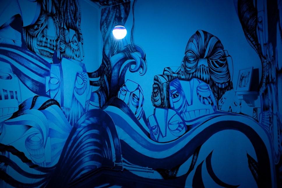 Colorama Street Art Festival : les street-artists enfilent leur bleu de travail