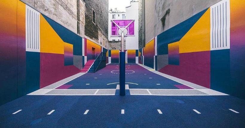 Le playground Duperré (Paris 9ème)