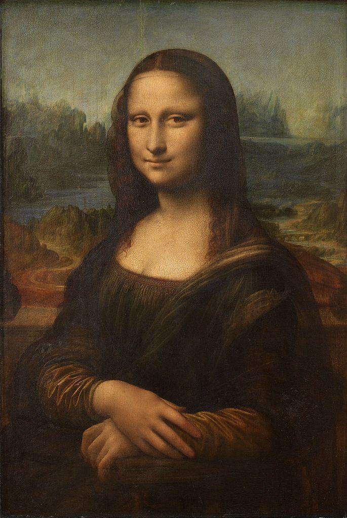 Mona Lisa de Leonardo da Vinci surnommée La Joconde