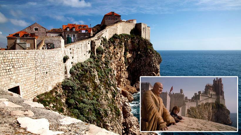 Dubrovnik ou Port-Réal dans la série Game of Thrones