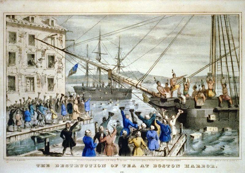 16 décembre 1773 : la Boston Tea Party amorce l'indépendance américaine