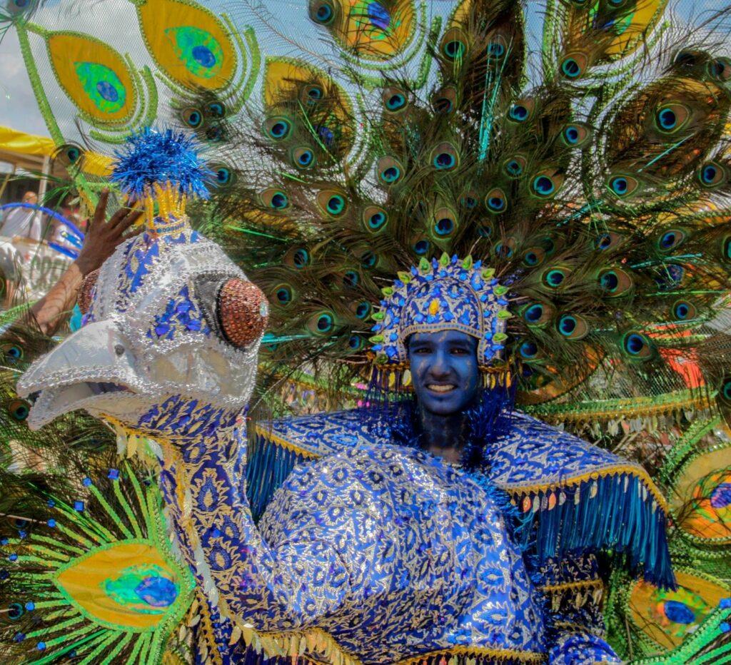 Junior parade du carnaval de Trinité et Tobago en 2015