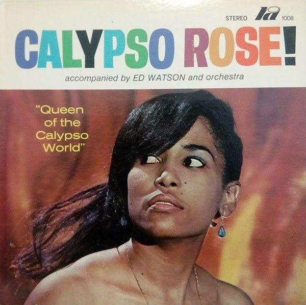 Cover du premier album de Calypso Rose sorti en 1969