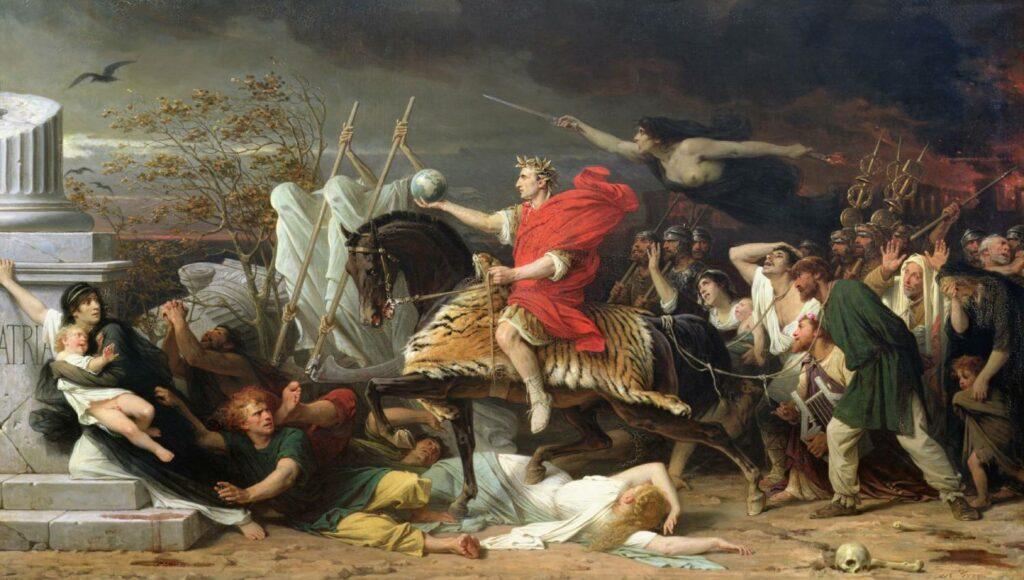 Le triomphe de Jules César / Caesar - Adolphe Yvon (1817 - 1893)