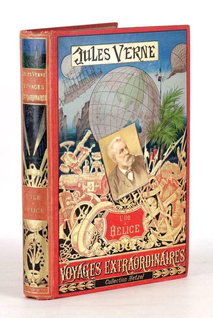 Célèbres couvertures des Voyages extraordinaires de Jules Verne, collection Hetzel
