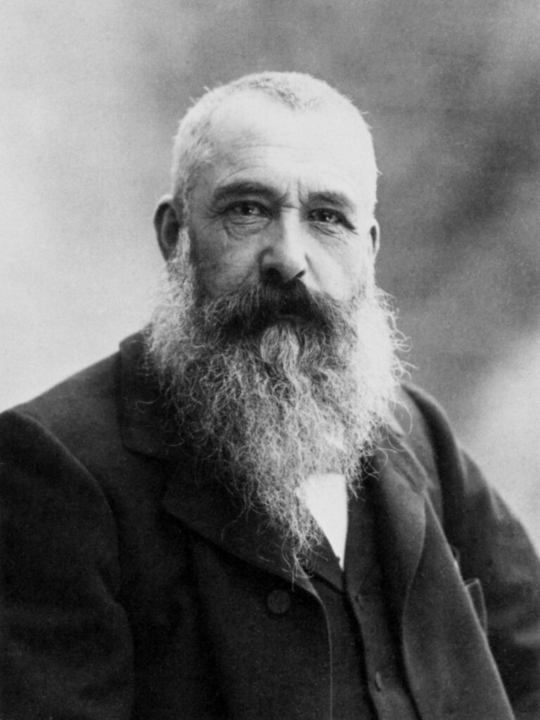 Photographie de Claude Monet