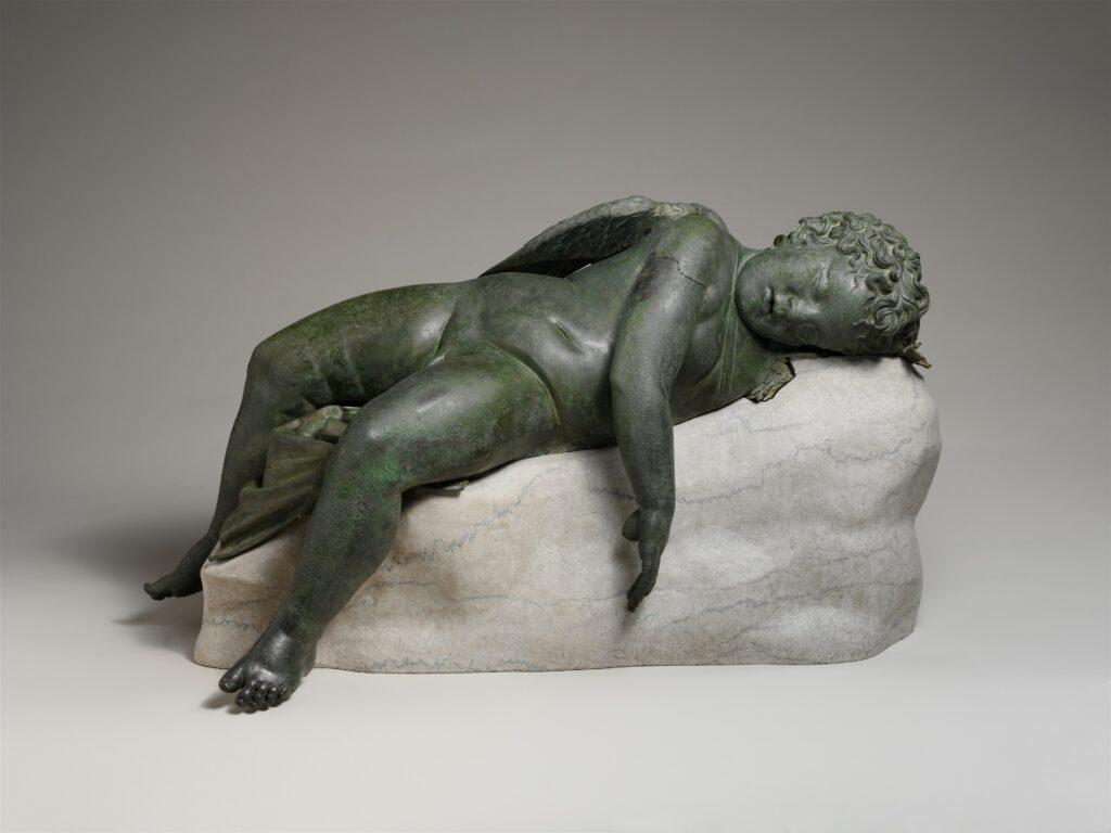 Statue d'Eros endormi (MET)