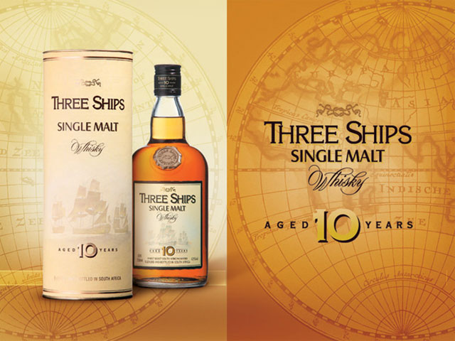 Three Ships : whisky sud africain