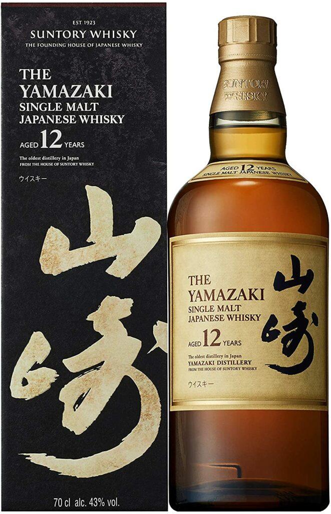 Bouteille de Yamazaki : whisky japonais