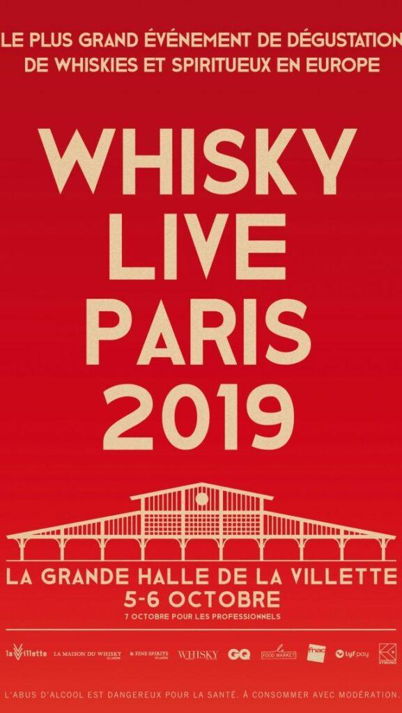Affiche du Festival Whisky Live Paris 2019