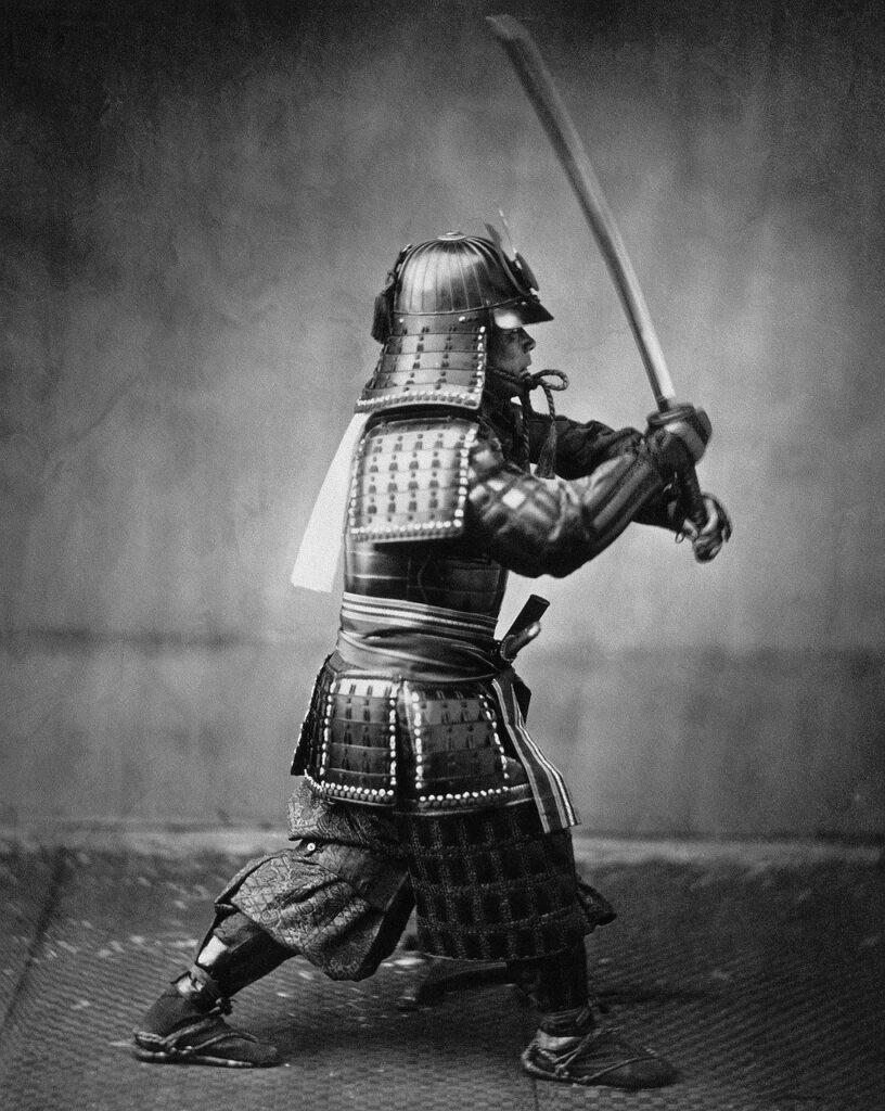 Samouraï en armure