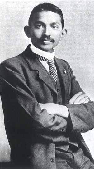 Gandhi  jeune
