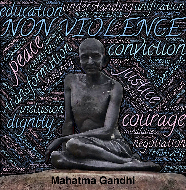 Statue du Mahatma Gandhi