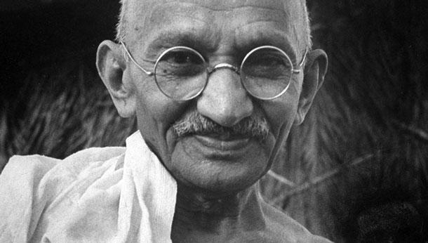 Sur les traces de Gandhi, figure du pacifisme