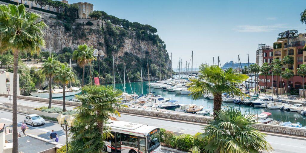 Quartier de Fontvieille à Monaco
