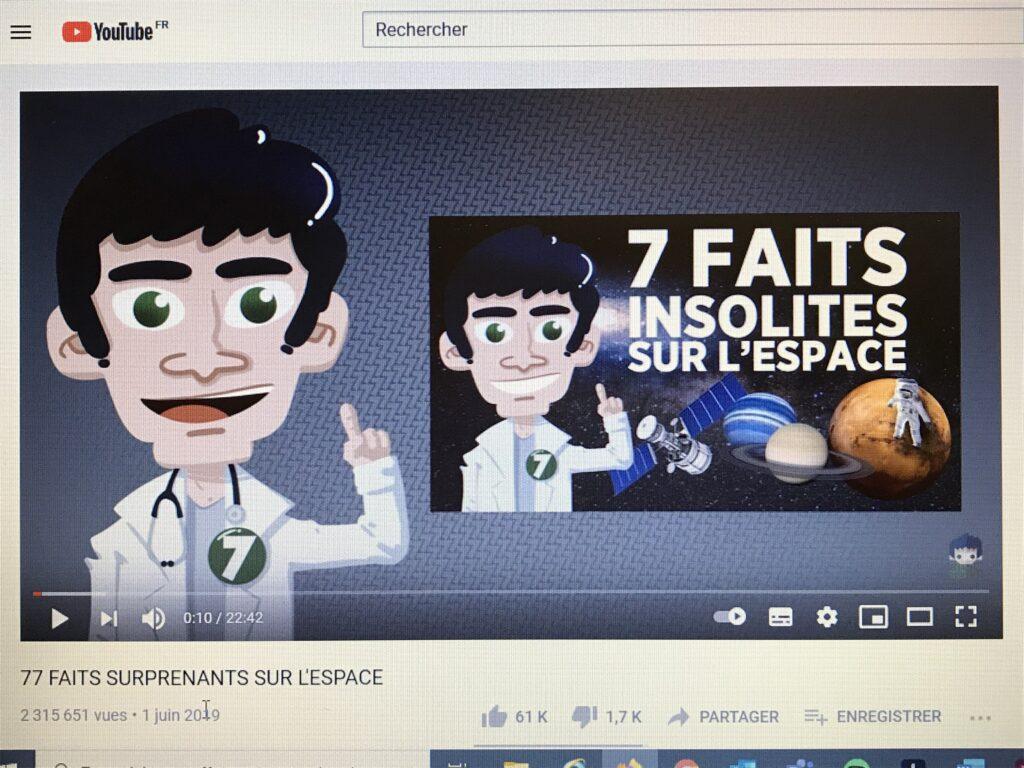 Exemple de vidéo de Doc Seven : 77 faits surprenants sur l'espace