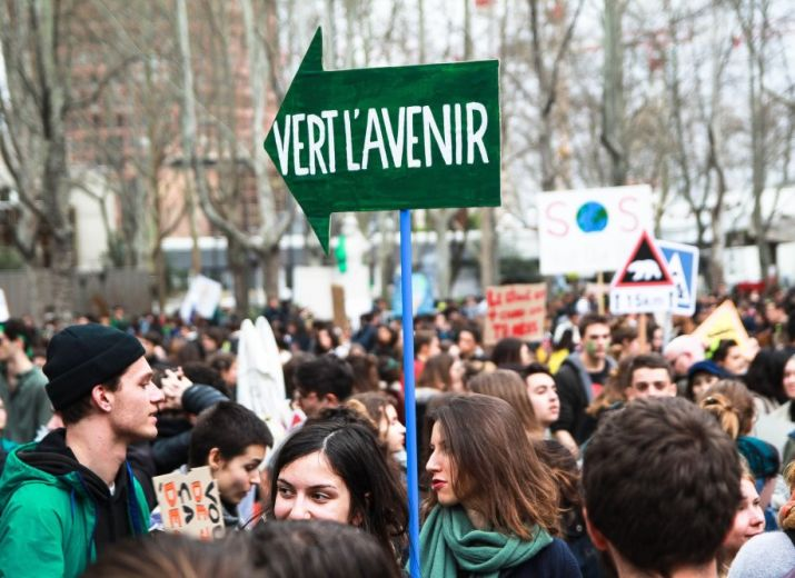 Manifestation Youth For Climate