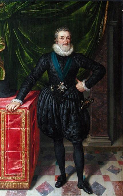 Henri IV par Pourbus