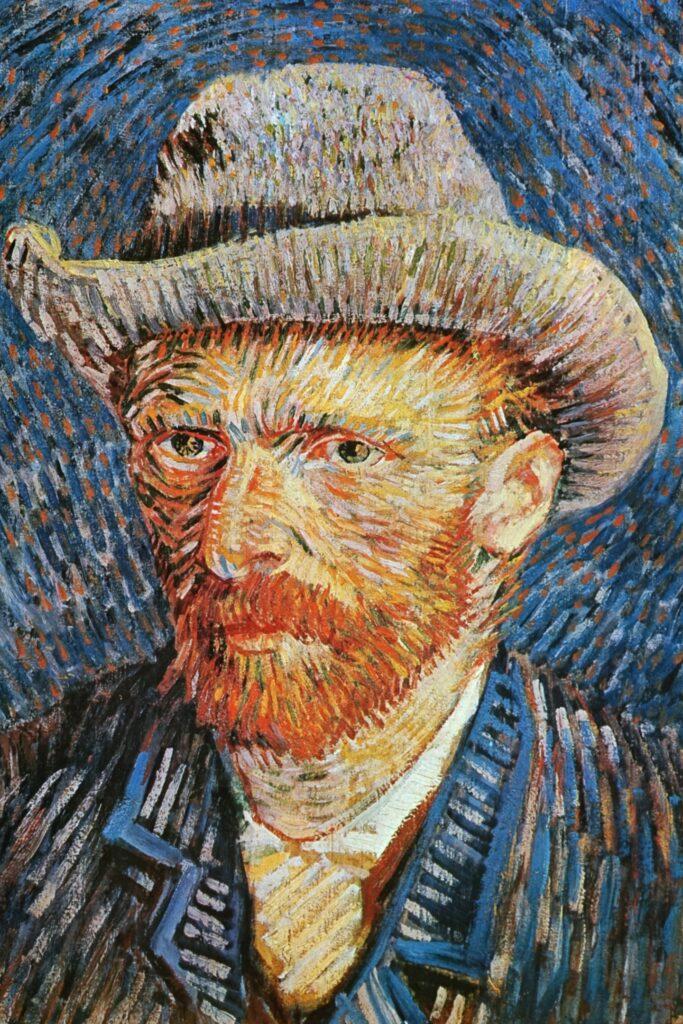 Autoportrait au chapeau de feutre, 1887, Vincent Van Gogh, Universal History Archive