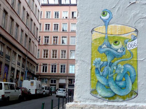 Sorties et activités du mois de mars –Street art dans les rues de la Croix-Rousse à Lyon