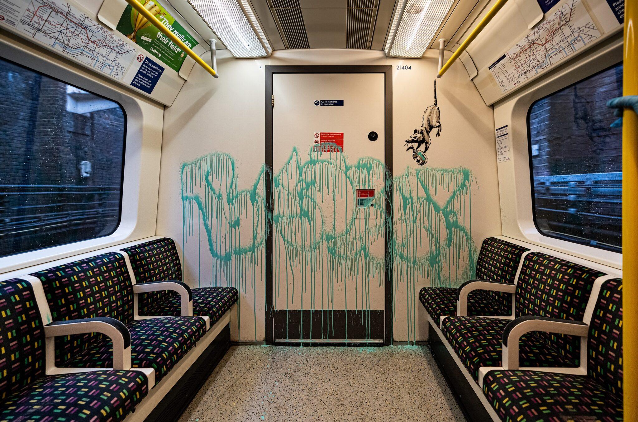 Street art, quand l'anonymat rend célèbre