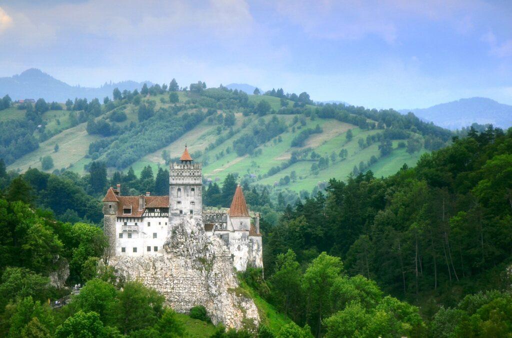 Le château de Bran connu comme étant celui de Dracula