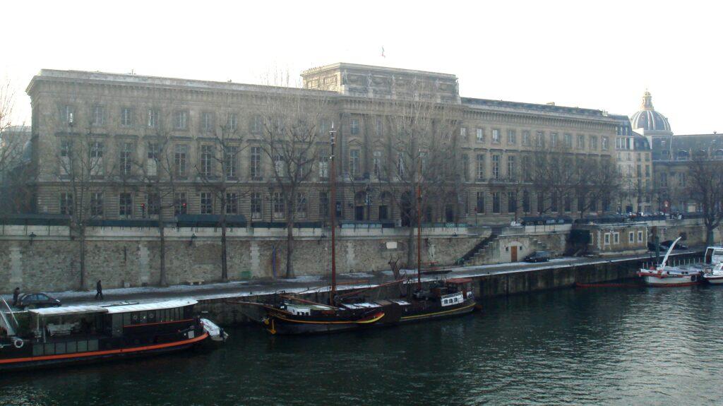 La Monnaie de Paris, quai de Conti à Paris