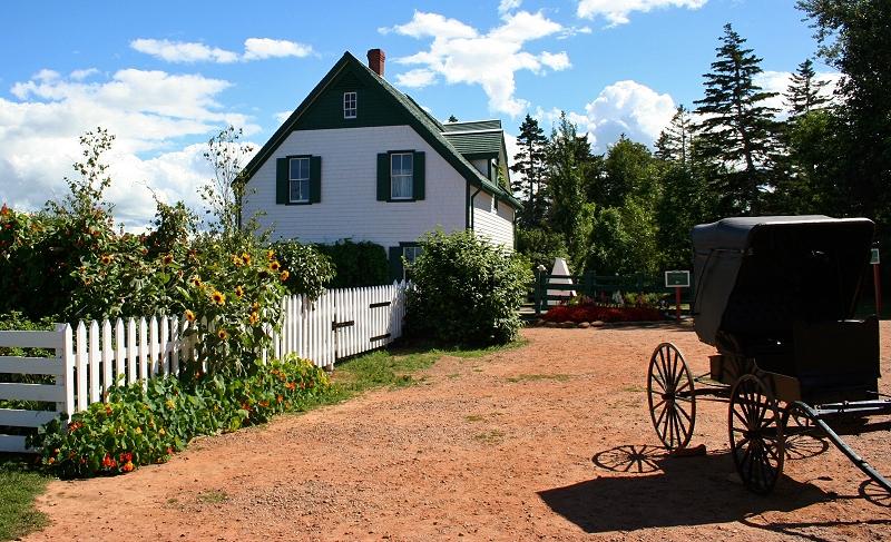 La ferme de Green Gables, à Cavendish / Wikimedia Commons, CC BY-SA 2.5]
