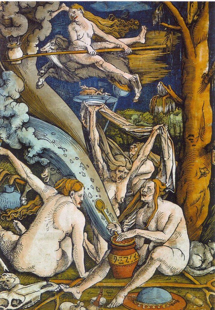 Hans Baldung - « Le sabbat des sorcières » / Wikicommons