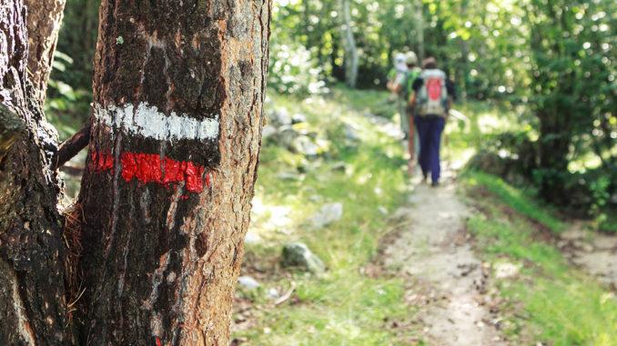 GR, sentier de grande randonnée et marque déposée