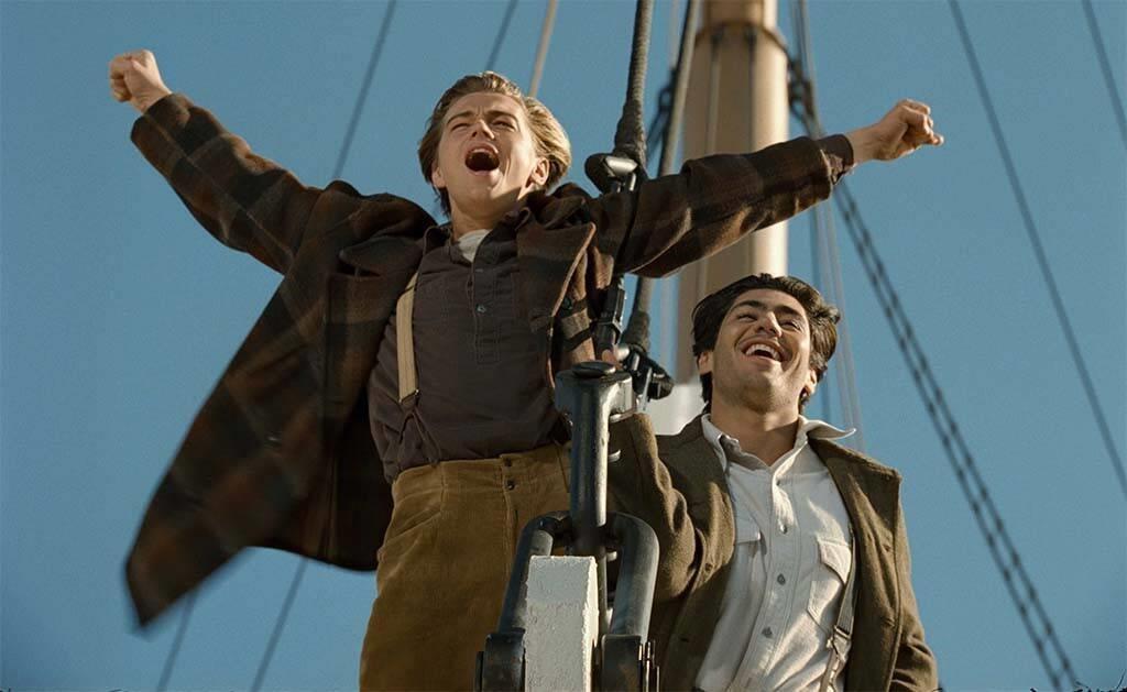 Jack, interprété par Leonardo Dicaprio, dans Titanic