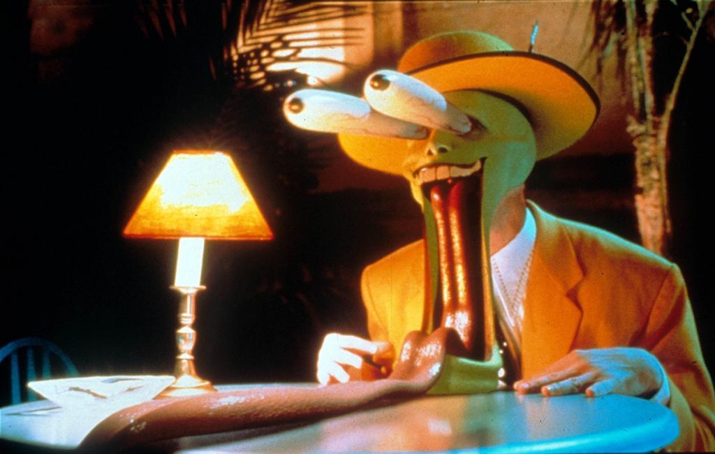 Scène de The Mask avec Jim Carrey reprenant celle du loup et du petit chaperon rouge sexy de Tex Avery