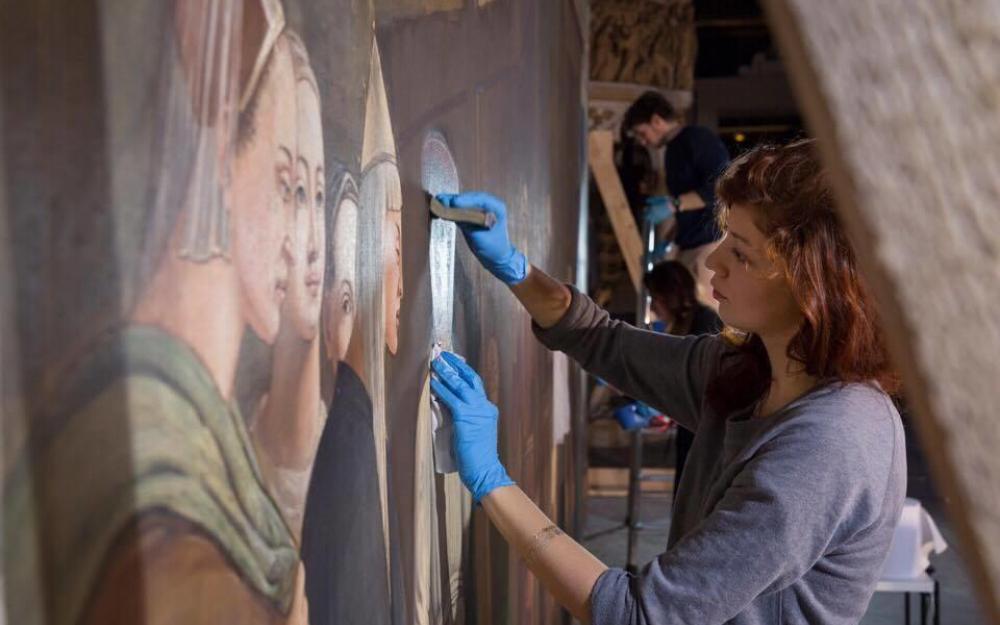 Restauration d'œuvre d'art