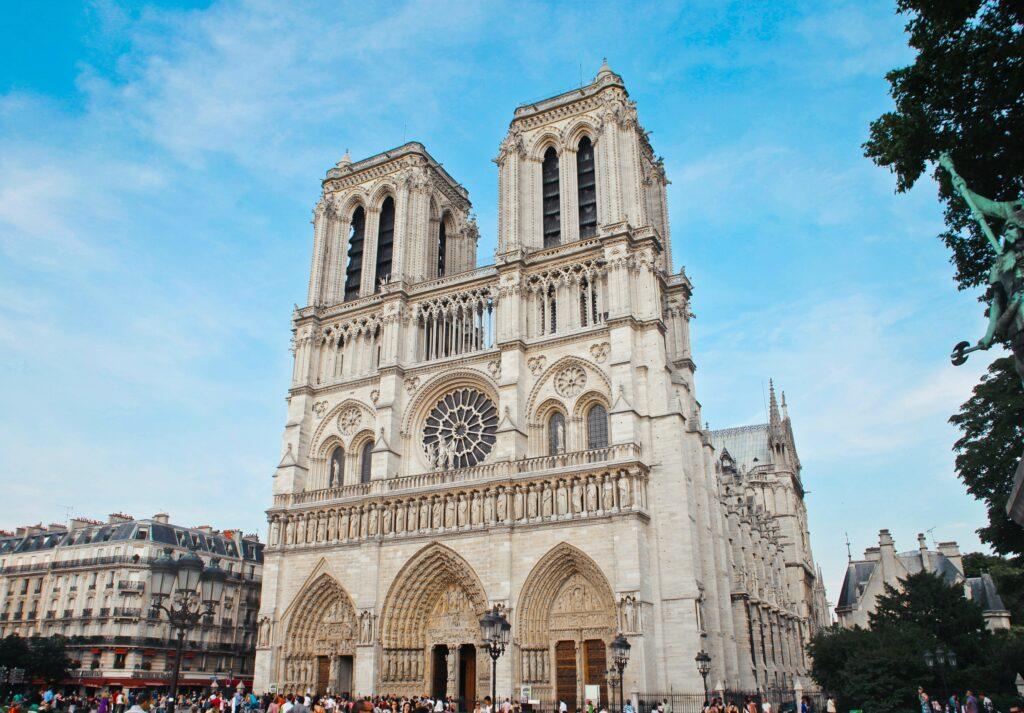 Notre-Dame avant sa nécessaire restauration suite à l'incendie de 2019